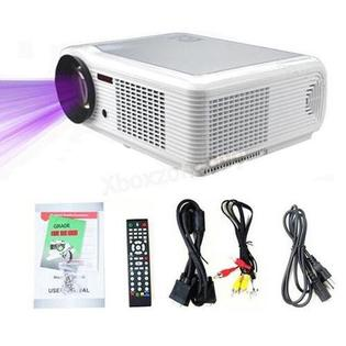 DB Power HTP Led-66 Hd 1080p Lcd Projector Led Home Theatre Av Vga Hdmi Sd Usb Tv S-video Ps3 Wii Led (White) at Sears.com