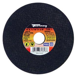 "Forney Industries Metal Cutting Wheel 4""x1/16"" x 5/8"" 15000 RPM at Sears.com"