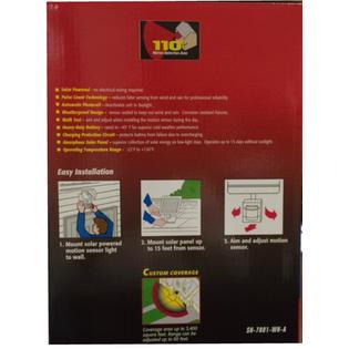 Heath Zenith SH-7001-WH-A Secure Home Motion Sensor Security Light
