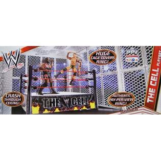 WRESTLING WWE THE CELL (HELL IN A CELL) PLAYSET - MATTEL TOY ACTION FIGURE WRESTLING RING at Sears.com