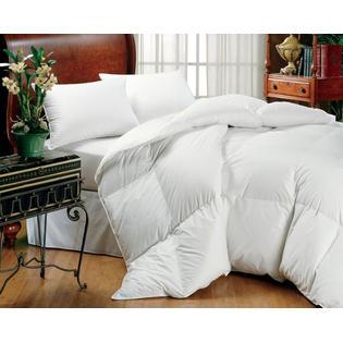 DOWNLITE Eddie Bauer White Goose Down Comforters