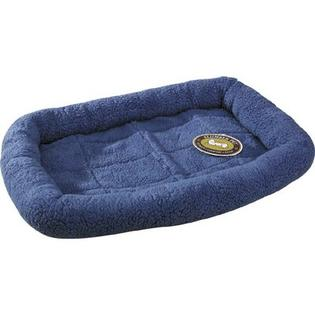 "Slumber Pet Sherpa Dog Crate Bed - Size: Small (23.75"" W x 16.75"" L), Color: Slate Blue at Sears.com"