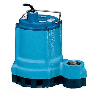 "Little Giant 1.5"" 4/10 HP ""Eliminator"" Submersible Sump / Effluent Pump - Volts / Cord Length: 230 Volts / 20' Cord at Sears.com"