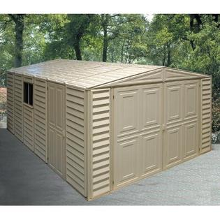 Duramax Vinyl Garage Shed - Size: 10.5' x 20.8' at Sears.com
