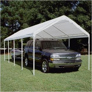 "King Canopy Hercules Canopy - Size: 11'6"" H x 10' W x 27' D, Color: White at Sears.com"