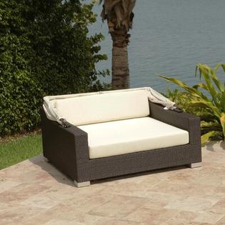 Source Outdoor King Day Bed with Cushions - Color: Sunbrella Bay Brown at Sears.com