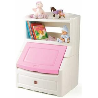 Step2 Lift and Hide Bookcase Toy Box with Lid - Finish: Pink at Sears.com