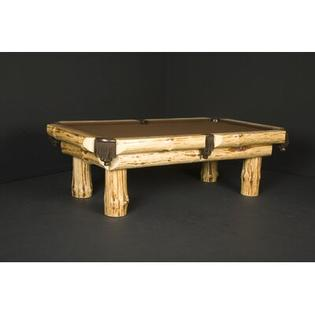 Northwoods Billiards Klondike 7' or 8' Pool Table - Size: 8' (Standard Size), Felt Color: Bottle Green at Sears.com