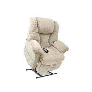 Pride Mobility Elegance Collection Medium 3-Position Lift Chair With Split Back - Fabric: Lexis Vinyl - Mushroom, Heat and Massage: None at Sears.com