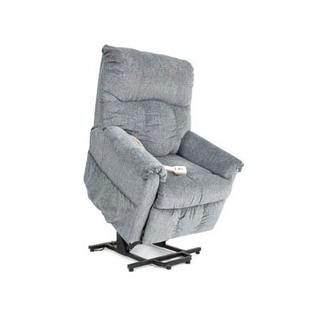 Pride Mobility Specialty Collection Medium 2-Position Lift Chair - Fabric: Lexis Vinyl - Black, Heat and Massage: Deluxe - Seat and Back at Sears.com