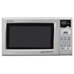 Sharp R820JS Grill 2 Convection Countertop Microwave in Silver at Sears.com