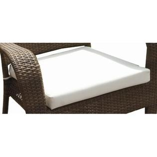 Hospitality Rattan Grenada Patio Rocking Chair Cushion - Color: Bay Brown at Sears.com