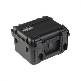 "SKB Small Military Standard Waterproof Case in Black - 9.25"" H  x 7.125"" W x 4.125"" D (inside) - Style: Padded Divider at Sears.com"