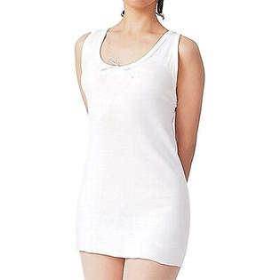 Silvert's Women's Cotton Vest in White - Size: 2X-Large at Sears.com