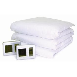 Biddeford Blankets Heated Mattress Pad with Digital Controller - Size: Queen at Sears.com