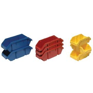 "Quantum Quick Pick Double Sided Bin (5"" H x 6 5/8"" W x 9 1/2"" D) - Bin Color: Red (Set of 20) at Sears.com"