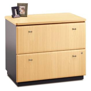 Bush Series A: Lateral File - Finish: Natural Cherry (Assembled) at Sears.com