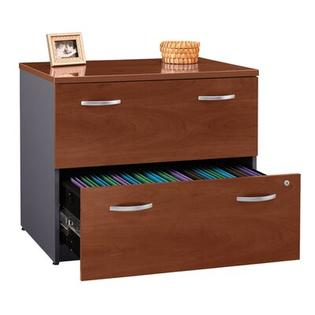 Bush Series C: Lateral File - Finish: Mahogany at Sears.com