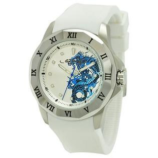 Ed Hardy Men's Roman Watch in White at Sears.com