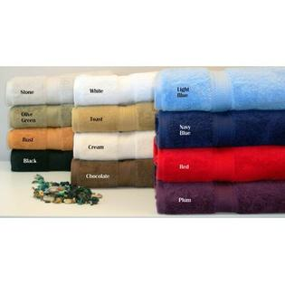 Simple Luxury Luxurious Egyptian Cotton 900 GSM Two Piece Bath Towel Set - Color: Red at Sears.com