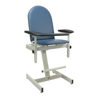 Winco Manufacturing Designer Blood Drawing Chair - Color: Moss Green, Style: Dual Pivot Arms and Utility Side Table at Sears.com
