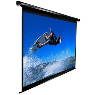 "Elite Screens VMAX2 AcousticPro Electric MaxWhite 110"" 16:9 AR Wide Projection Screen in Black Case at Sears.com"