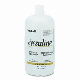 UVEX SAFETY, INC. Eye Wash Saline Solution Bottle Refill, 32-oz at Sears.com