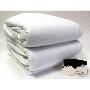 Biddeford Blankets Heated 50% Cotton Mattress Pad with Digital Controller - Size: Full at Sears.com