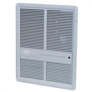 TPI Double Pole 13,648 BTU Fan Forced Wall Electric Space Heater - Finish: White at Sears.com