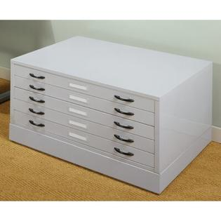 "Studio Designs szt104215.5"" x 46.75"" Flat File in Light Grey at Sears.com"