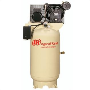 Ingersoll Rand 80 Gallon 175 PSI, 16.8 CFM, 5.0 HP Fully Packaged Electric Driven 2 Stage Air Compressor -Input Voltage:230 Volt, single phase at Sears.com