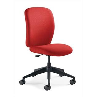 Steelcase Jack Mid-Back Task Chair -Fabric Color:Buzz2 -Blue, Arms:Fixed-Height & Maintenance Width T-arms, Casters/Glides:Hard Floor Cast at Sears.com