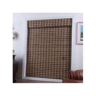 "Top Blinds Arlo Blinds Bamboo Roman Shade in Vera Guinea - Size: 38"" W x 74"" H at Sears.com"