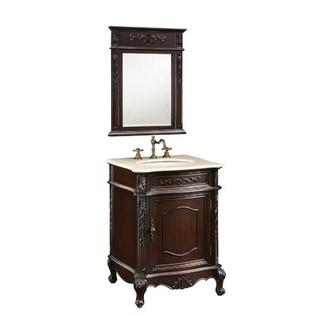 "Empire Industries Verona Bath Vanity - Finish: Dark Cherry, Size: 24"" at Sears.com"