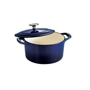 Tramontina Gourmet Enameled Cast Iron 6 1/2 Qt Covered Round Dutch Oven Gradated - Finish: Gradated Cobalt at Sears.com