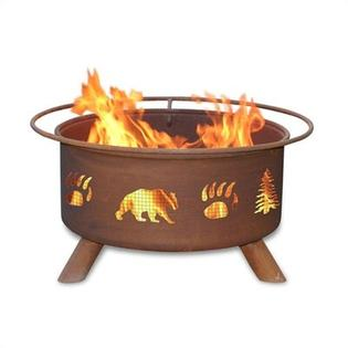 Patina Products Bear and Tree Fire Pit at Sears.com