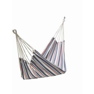 Twotree Hammocks Cotton Fabric Hammock - Color: Blue / White Stripe at Sears.com