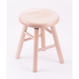 "Holland Bar Stool Domestic Hardwood 18"" Saddle Dish Swivel Stool - Frame Finish: Oak - Medium, Leg Style: Smooth Legs at Sears.com"