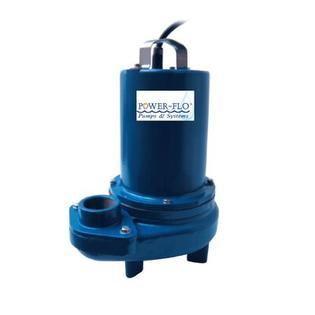 Power-Flo Pumps 1/2 HP Sewage Submersible Pump with 1.6 Amps Manual Operation at Sears.com