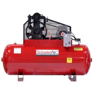 Schrader Professional Series Two Stage 5 HP 120 Gallon Horizontal Air Compressor - Voltage: 460V at Sears.com