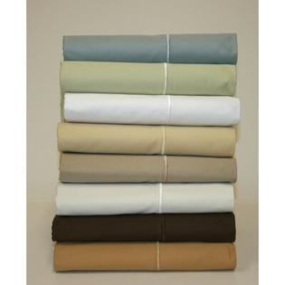 Wildon Home 600 Thread Count Solid Sateen Sheet Set - Size: Full, Color: Pale Green at Sears.com