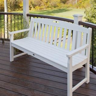 "Trex Outdoor Yacht Club Garden Bench - Size: 60"", Color: Vintage Lantern at Sears.com"