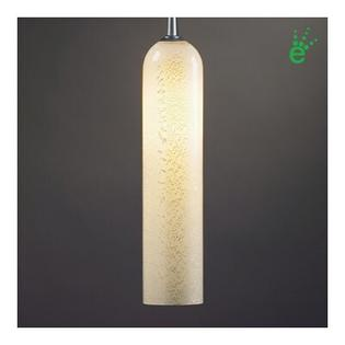 "BRUCK Chianti One Light LED Pendant with Canopy - Canopy Size: 2"" with Junction Box, Finish: Chrome, Shade Color: Brown and Blue at Sears.com"