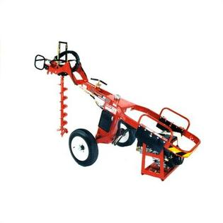 "General Equipment 13 HP Towable Hole Digger w/ Auger, Coupler & Extension Options -Choice of Free Coupler:Coupler for 7/8"" Square Auger Connection at Sears.com"
