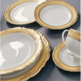 "Ten Strawberry Street Vanessa Gold 7.5"" Salad Plate  (Set of 12) at Sears.com"