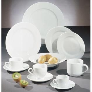 "Ten Strawberry Street Royal White 7.5"" Salad / Dessert Plate (Set of 12) at Sears.com"