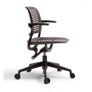 Steelcase Cachet Swivel-Base Work Chair - Fabric Options: No Fabric, Casters/Glides: Hard Floor Casters, Fabric Color: Buzz2 - Grape at Sears.com