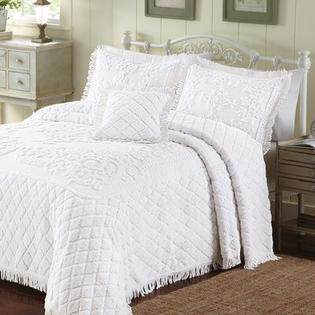 LaMont Lilian Bedspread - Size: Queen, Color: Reed Yellow at Sears.com