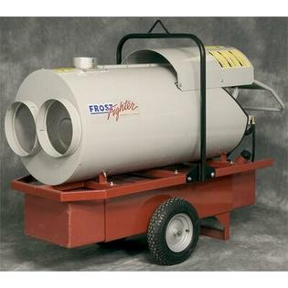 "Frost Fighter 210,000 BTU Oil-Filled Utility Propane or Natural Gas Space Heater -Outlet:Single 16"", Add Duct Hose:Duct Hose 12"" Diameter, 25' at Sears.com"