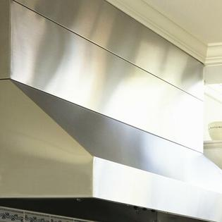 "Vent-A-Hood Wall Mount Hood Duct Cover - Size: 30"", Ceiling Height: 8' at Sears.com"